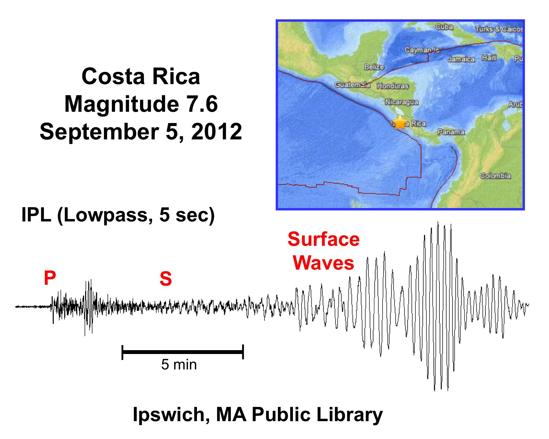 CostaRica_Seismogram
